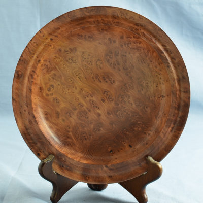 Redwood Burl Platter