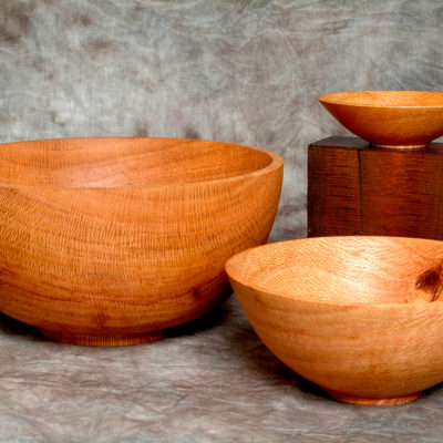 Silky Oak Nested Bowls